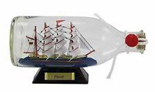 Flaschenschiff- Buddelschiff- Schiff in Flasche- Passat -L 16 cm