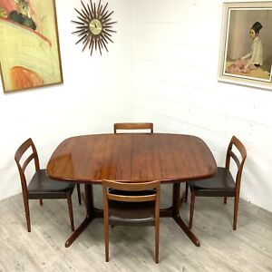 Danish Mid Century Rosewood Extending Table by Rasmus Solberg Seat Upto 10