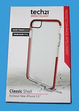 "Genuine Tech 21 D30 Classic Shell duro & Slim Custodia iPhone 6 6s PLUS 5.5"" - NUOVO"