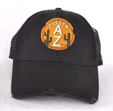 *TUCSON ARIZONA* Trucker mesh Ball cap hat distressed *OURAY* embroidered