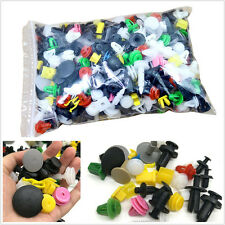 500 Pcs Mixed Color Car SUV Fender Bumper Door Engine Push Rivet Fastener Clips