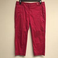 Ann Taylor Loft Women's Size 4 Original Ankle Pants Pink