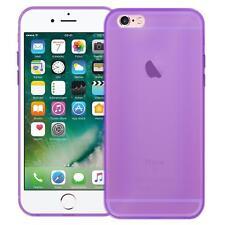 Handy Hülle Silikon Case Schutz Tasche Dünn Slim Cover für Apple iPhone Modelle