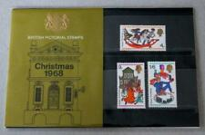 GB 1968 CHRISTMAS CHILDRENS TOYS PRESENTATION PACK No.4 SG 775 777 MINT STAMPS 4