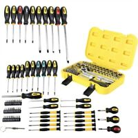 JEGS 80755K2 69-Piece Screwdriver Set and 52-Piece Socket Set