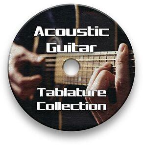 Acoustic Rock Guitar Tabs Tablature Lesson Software CD - Guitar Pro