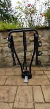 Thule lockable tow bar, 3 bike carrier, compact folding hang style