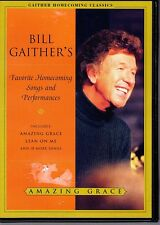 DVD Amazing Grace. Bill Gaither's Favorite Homecoming Songs and Performances.CCM