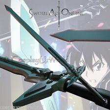 Sword Art Online Kirigaya Kazuto Kirito Dark Repulsor Cosplay Foam Weapon SAO
