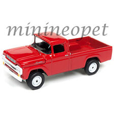 JOHNNY LIGHTNING JLCP7004 1959 FORD F-250 PICK UP TRUCK 1/64 DIECAST RED