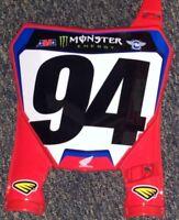 Ken Roczen #94 Replica Monster Energy Supercross Front Number Plate **SALE**