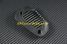 For Mercedes W205 C Class C300 C350 C400 C63 AMG Carbon Leather Remote Key Cover
