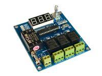 Traffic / Christmas Light Controller AC 100-240V 50/60Hz Plus DC 30V 3 Ch Relay