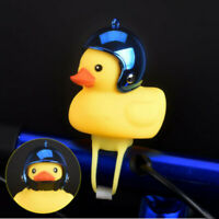 Cartoon Duck Head Lights Shining Duck Bicycle Bell Handlebar Bicycle Accessory