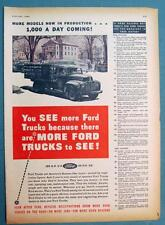 Orig 1946 Ford Truck Ad 32 Reasons New Fords are the Greatest in Ford History