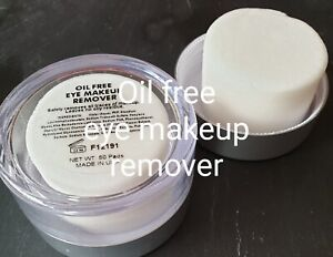 Eye Makeup Remover pads, Oil-Free. 192 ml - 50 pads per packet