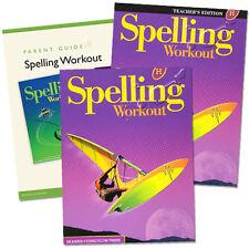 8th Grade MCP Spelling Workout Level H Homeschooling Kit 8 Homeschool Curriculum