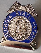 GA  GEORGIA STATE PATROL MINI BADGE PIN - NEW POLICE LAPEL PIN