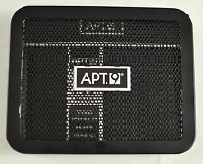 "NWT mens Apt.9 wallet slim fit black leather 4"" wide 3"" high lots of card storag"