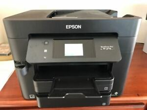 Epson WorkForce Pro WF-4734 All-in-One Printer / super nice / Installed ink