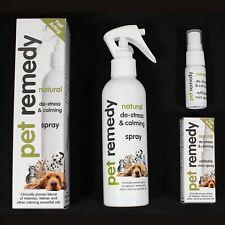 More details for pet remedy calming spray 200ml/15ml help de-stress nervous dogs cats birds rspca