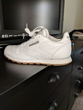 REEBOK CLASSIC LEATHER White Gum 49797 BOYS CLASSIC RUNNING SHOES