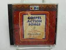GOSPEL ACTION SONGS 17 Classic Gospel Style Songs-Kids-Brand New Plastic Christi