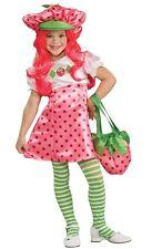 Deluxe Strawberry Shortcake Costume Kids Girls Child - Size Small 4-6 - Fast -