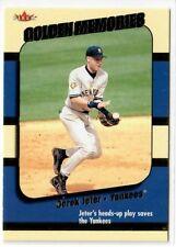 2002 Fleer Golden Memories #2 Derek Jeter - Yankees