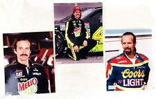 Kyle Petty Signed Autographed Picture Mellow Yellow Car #42 Coors Light NASCAR