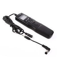 Timer Remote Shutter Cord +2.5mm DC Adapter For Nikon D200 D700 D800 D810A D4 N1