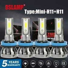 H11 H11 LED Headlight Low Beam Fog Light Combo For Ford Fusion Honda CRV 2005-18