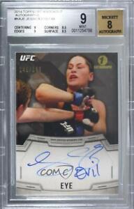 2014 Topps UFC Knockout /149 Jessica Eye #KA-JE BGS 9 Auto