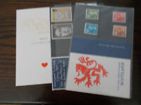 GB MINT STAMPS VARIOUS ISSUES ALL COMPLETE  - SELECT ITEM