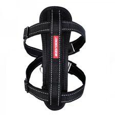 EzyDog Chest Plate Harness Dog 10 Colours 5 Sizes Comfort Car Restraint M Black