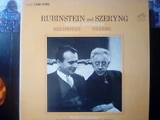 Rubinstein and Szeryng Violin sonatas Beethoven and Brahms