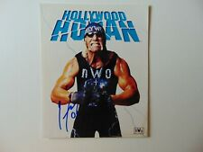 """WWE"" Hulk Hogan Hand Signed 8X10 Color Photo Todd Mueller COA"