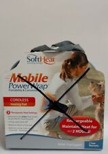 SoftHeat Mobile PowerWrap for Soothing Therapy + Carry Bag