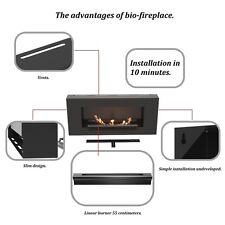 Fireplace bio ethanol NEW SUPER FLAT LINE BURNER 55cm. HIT 2014 !!!