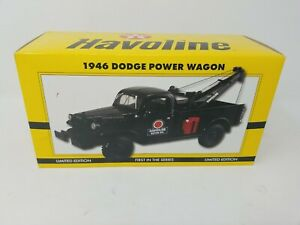 HAVOLINE 1946 Dodge Power Wagon Limited Edition First in Series - Die Cast Metal