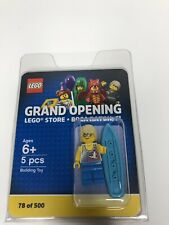 LEGO Limited Edition #78/500 Boca Raton Store Grand Opening Surfer Mini Figure