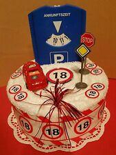 ** Geburtstag*Handtuchtorte** zum 18. Geburtstag **