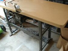 Industrial Sewing Machine Table with Motor