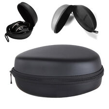 HARD HEADPHONE CASE TRAVEL STORAGE BOX FOR SONY BEATS EARPHONE HEADSET BLACK NEW