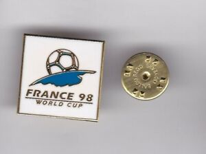 World Cup Logo - France'98 - lapel badge butterfly fitting