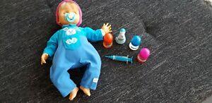 GUT Spielzeug Puppe Giochi Preziosi Cicciobello Doktorpuppe 50 cm Unvollständig