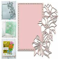 Blumen Blatt Stanzschablone Cutting Dies Scrapbook Karte Stencil Bastel Geschenk