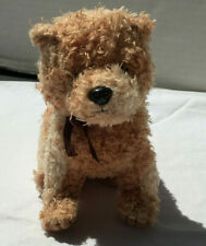 "5"" Ty Beanie Baby Scampy Terrier Puppy Dog Bean Bag Plush 2004"