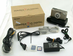 CONTAX TVS digital T* Zeiss Vario-Sonnar top boxed OVP collectable sammelbar /20