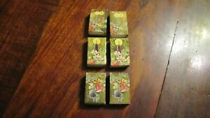 "Lot of 6 Holiday Matches made in Sweden - 3 designs- - 1 5/8"" X 1"" each"